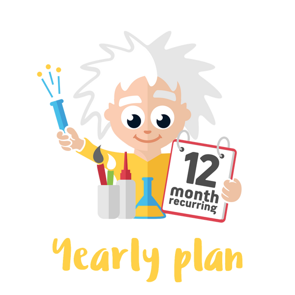Yearly Standard Plan - 2 Premium Activities on a 12 month Plan