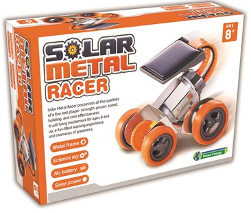 Solar Metal Racer Kit