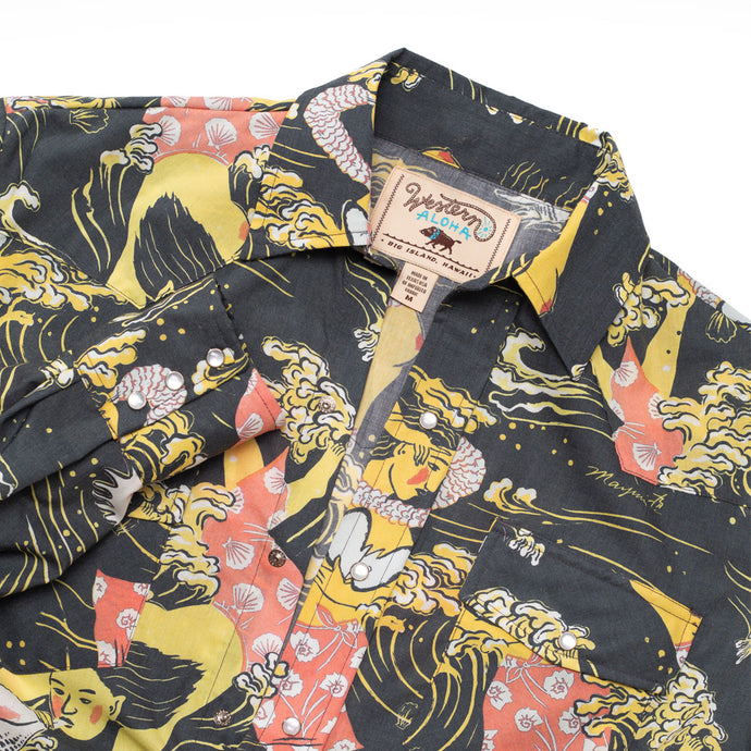 GOLDEN SEA MEN'S SHIRT