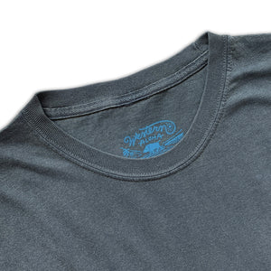 MEN'S PIGMENT DYED COTTON TEE - NAVY
