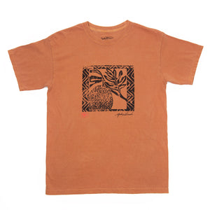 MEN'S ULU WOODBLOCK TEE