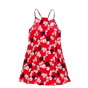 ALOHA DRESS PAREU RED