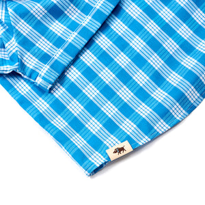 WOMEN'S POPOVER CHANNEL BLUE