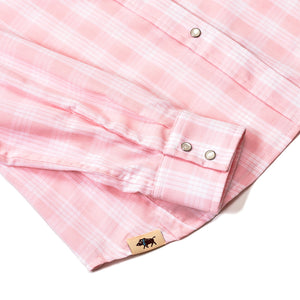 WOMEN'S PALAKA SNAP SHIRT PINK