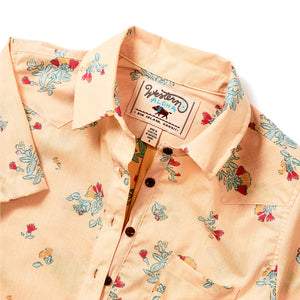 OHIA POPOVER SHORT SLEEVE YELLOW
