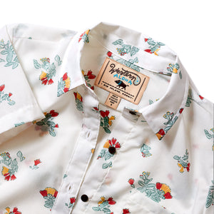 OHIA BUTTON DOWN WHITE