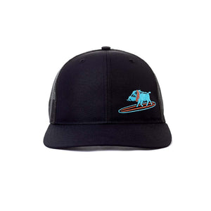 Embroidered Surfing Boar Snapback