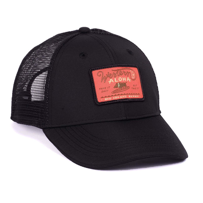 SURFING BOAR PATCH SNAPBACK
