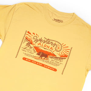 SURFING BOAR BIG LOGO TEE