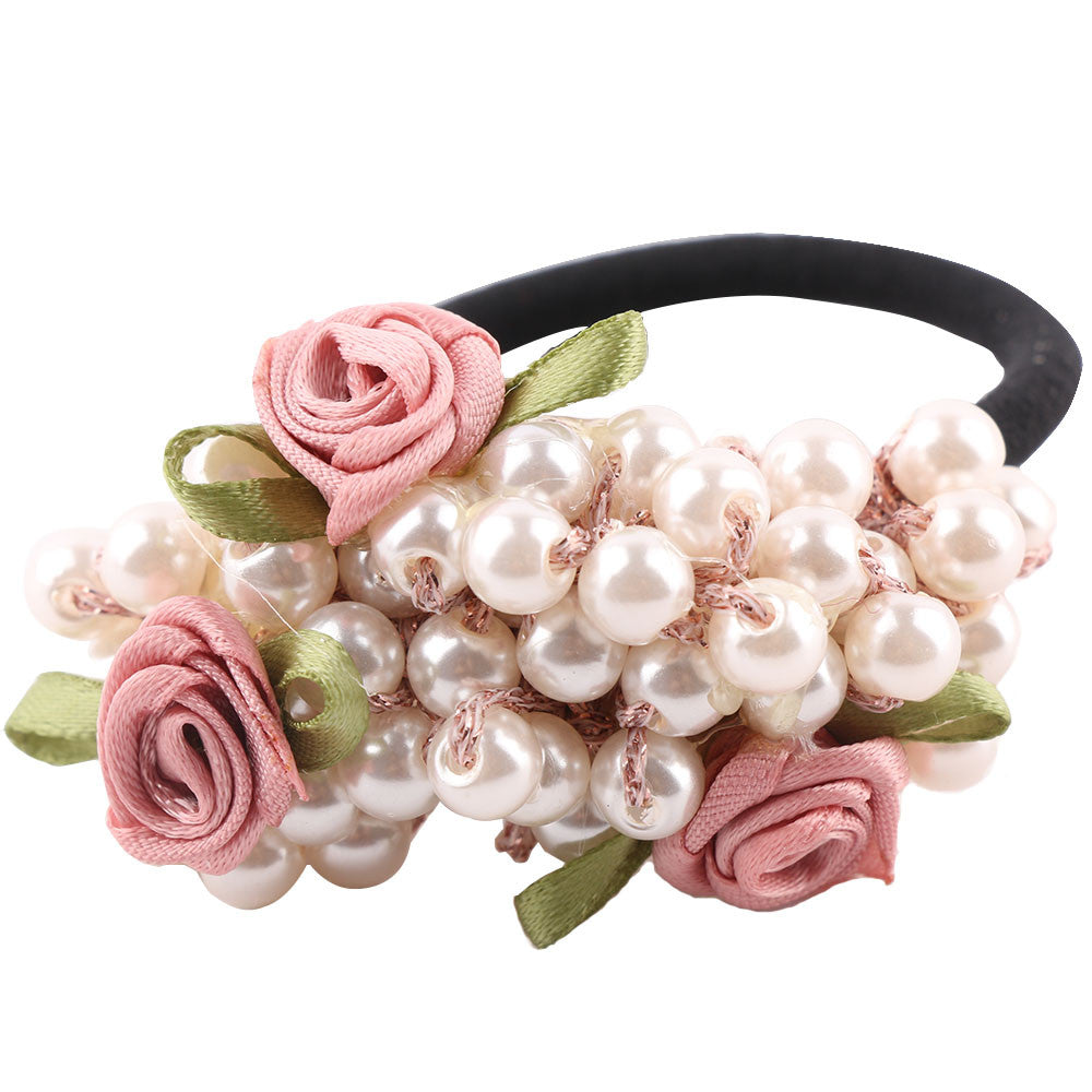 1PCS Fashion Girls Hair Accessories Rustic Rubber Band Elastic Hair