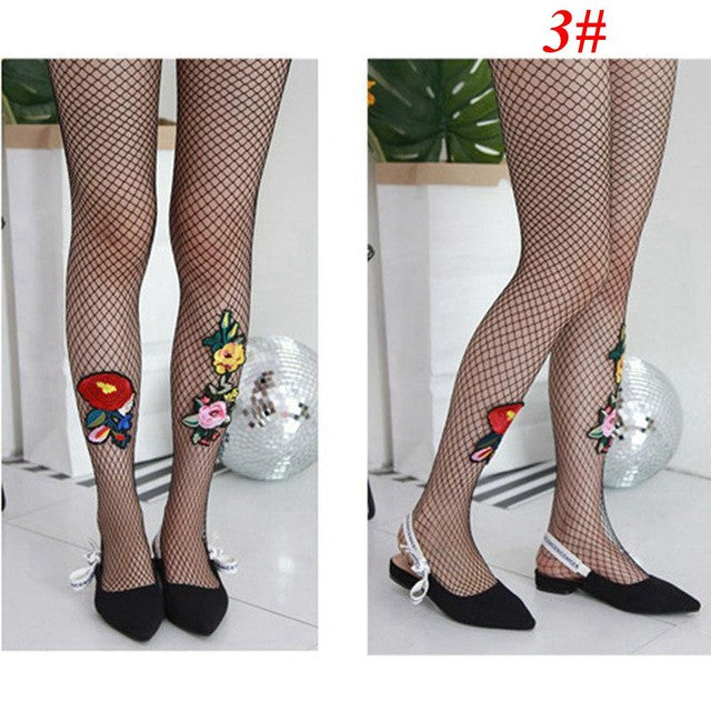 1PC Spring Summer Fashion Sexy Flower Embroidery Patch Hollow Out