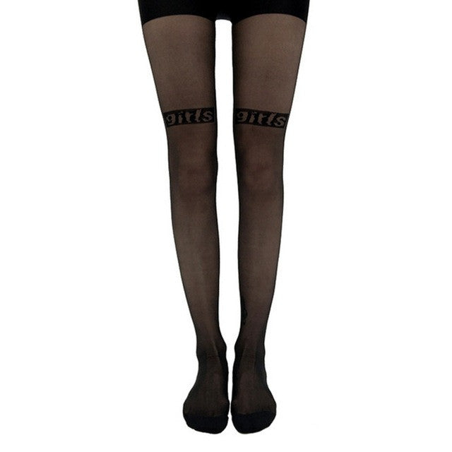 1Pair Fashion Sexy Women Girls Party Tights Paragraphs Stockings