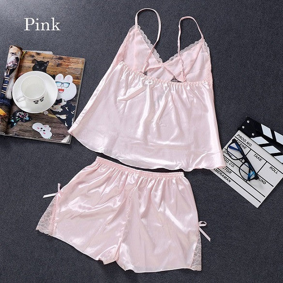 1Set Hot Sale Fashion High Quality Women Sexy Lingerie Laces pajamas