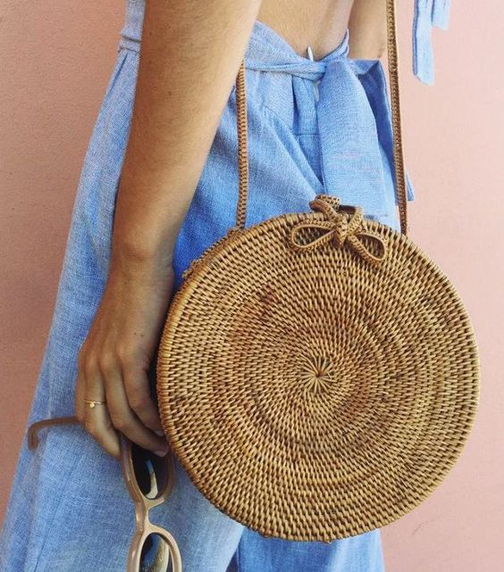 The Little Round Woven Bag-That's Taking Instagram by Storm
