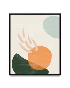 Boho abstract shapes