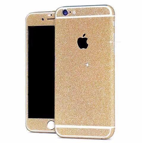 Skin iPhone Paillettes Brillantes Champagne
