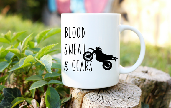 Blood Sweat Gears | Coffee Mug