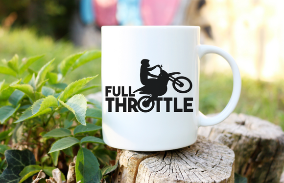 Full Throttle | Coffee Mug