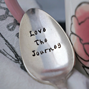 Love The Journey | Stamped Spoon