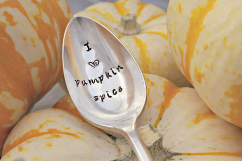 Pumpkin Spice | Stamped Spoon