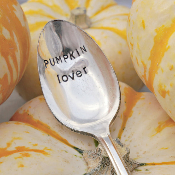 PUMPKIN lover | Stamped Spoon