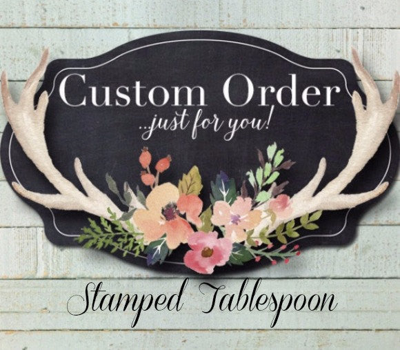 Custom Tablespoon | Custom Spoon