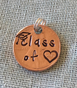 Class of & Date | Stamped Penny