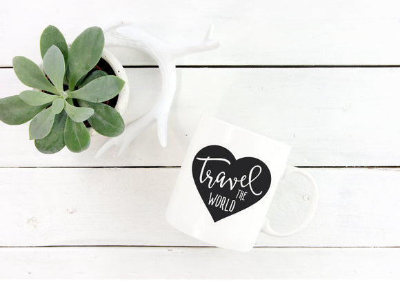 Travel The World Mug | Coffee Mug