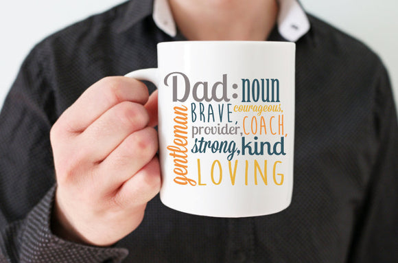 Dad Noun Mug | Coffee Mug