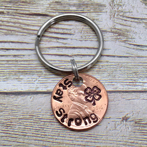 Stay Strong Clover | Stamped Penny