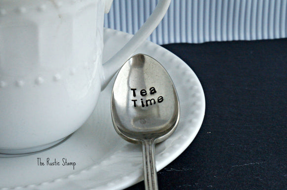 Tea Time | Stamped Iced Tea Spoon