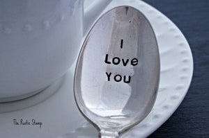 I Love You | Stamped Spoon