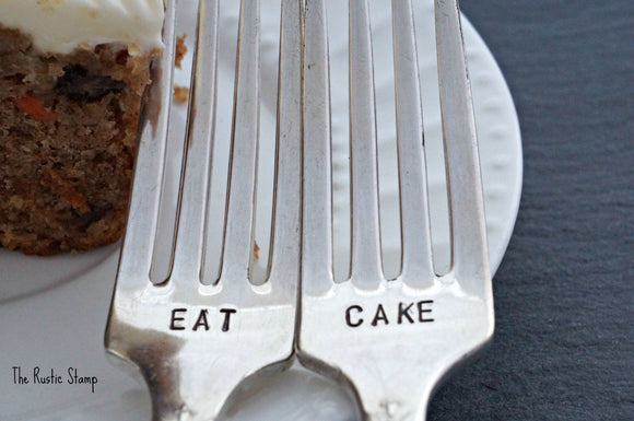 Eat Cake | Wedding Forks