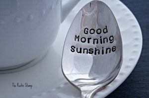 Good Morning Sunshine | Stamped Spoon