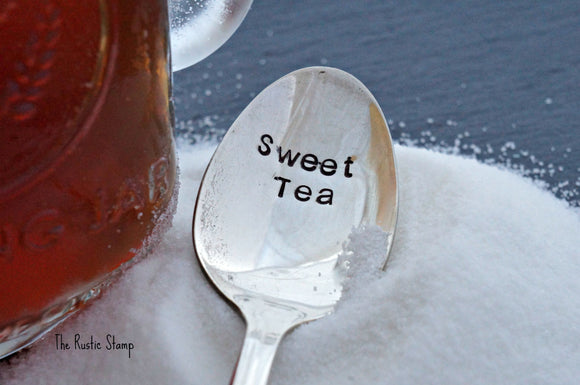 Sweet Tea | Stamped Iced Tea Spoon