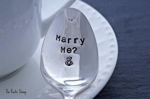 Marry Me? | Stamped Spoon