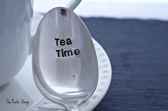 Tea Time | Stamped Spoon