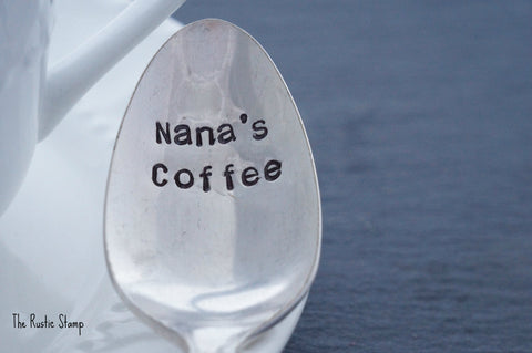 Nana's Coffee | Stamped Spoon