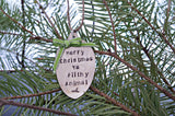 Merry Christmas Ya Filthy Animals | Stamped Spoon Ornament