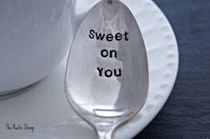 Sweet on You | Stamped Spoon
