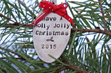 Have A Holly Jolly Christmas (year) | Stamped Spoon Ornament