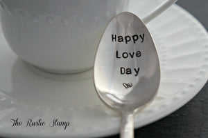 Happy Love Day <3 | Stamped Spoon