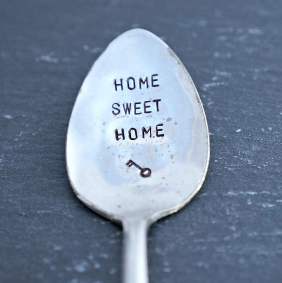 HOME SWEET HOME | Stamped Garden Marker