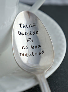 Think Outside | Stamped Spoon
