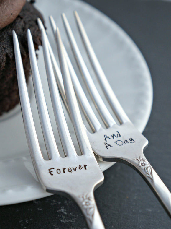 Forever And A Day | Wedding Forks