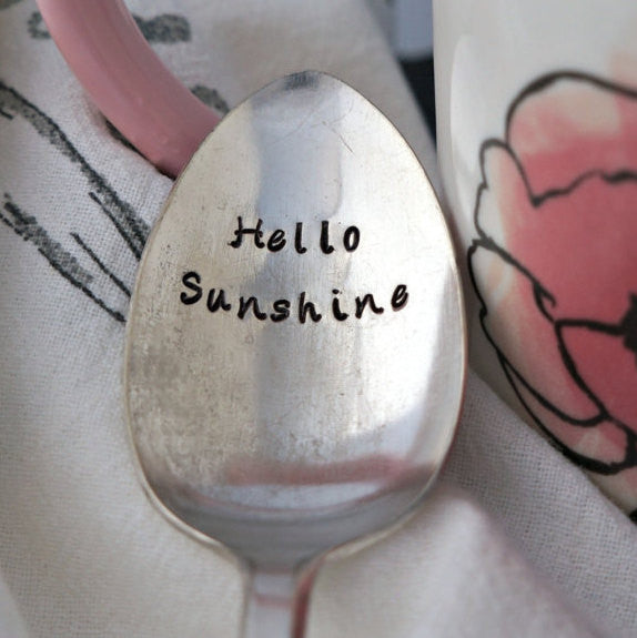 Hello Sunshine | Stamped Spoon