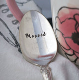 Blessed | Stamped Spoon