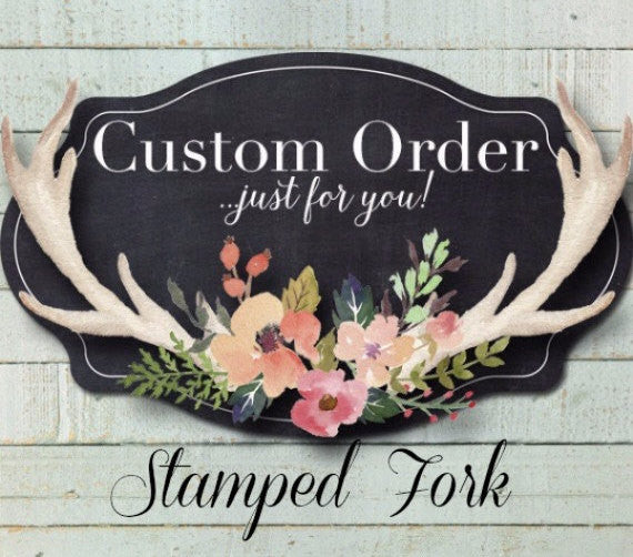 Custom Fork | Stamped Fork