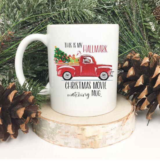 This is My Hallmark Christmas Movie Watching Mug | Coffee Mug