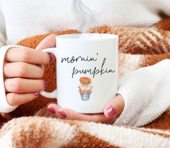 Mornin' Pumpkin Mug | Coffee Mug